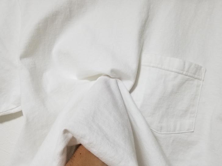 Goodwear(グッドウェア)半袖Tシャツの生地