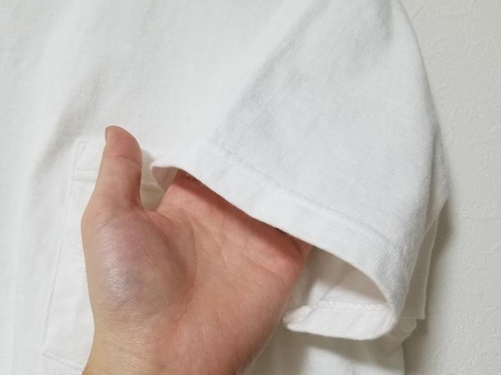Goodwear(グッドウェア)半袖TシャツMサイズの袖口