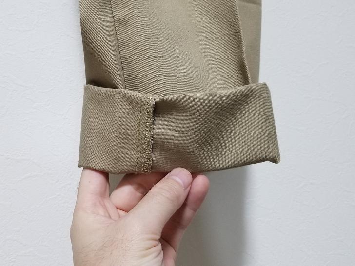 レッドキャップPT20の裾